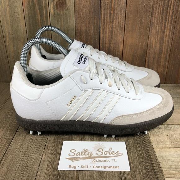 Adidas Samba Golf Spikes Womens Size 6 (Mens 5)